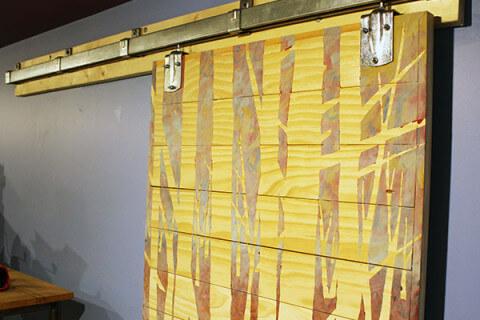 Custom Built Sliding Office Barn Doors