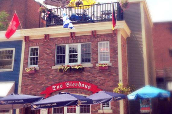 Das Bier Haus Street Photo